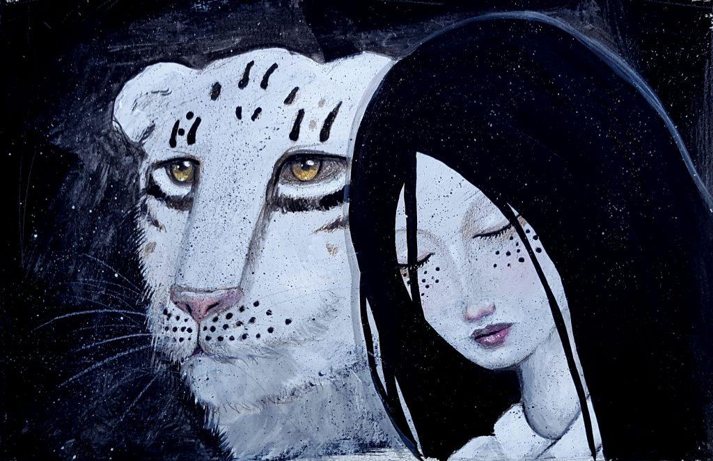 Tiger Contemplation
