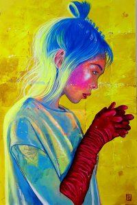 Aryuna's Red Gloves