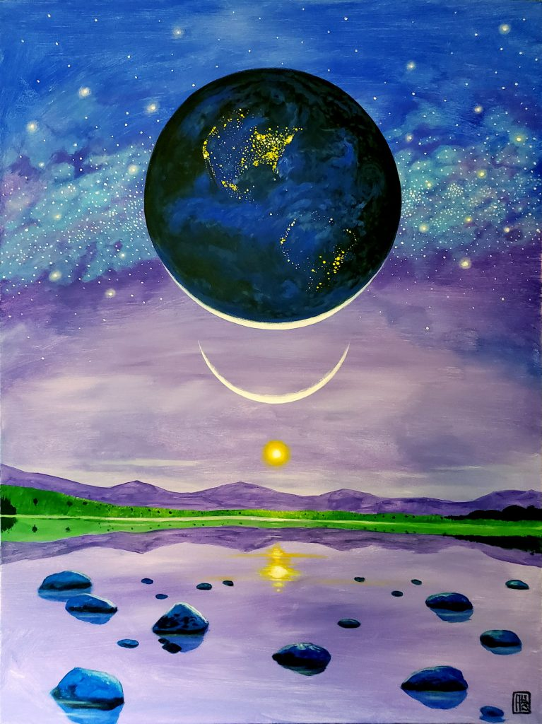 Earth Consciousness 15 - Planet Earth Art/ Climate Action