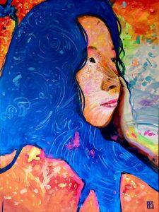 Jean Looking Up by Carlos Aleman